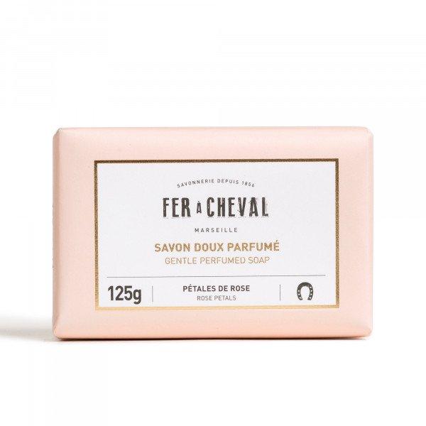 Gentle Perfumed Soap Rose Petals 125g