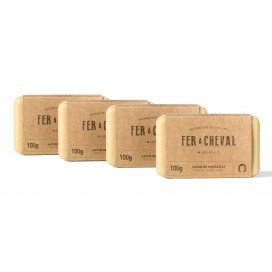 Marseille soap Vegetal Lot 4x100g