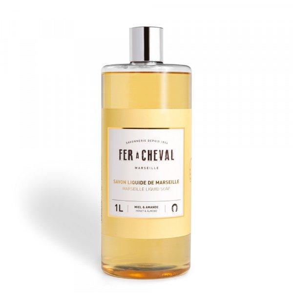 Marseille Liquid Soap Honey & Almond 1L