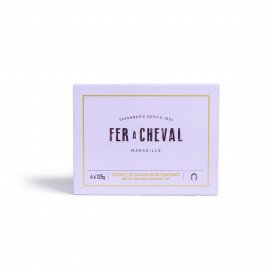 Gentle Perfumed Soaps Gift Set 4 x 125g