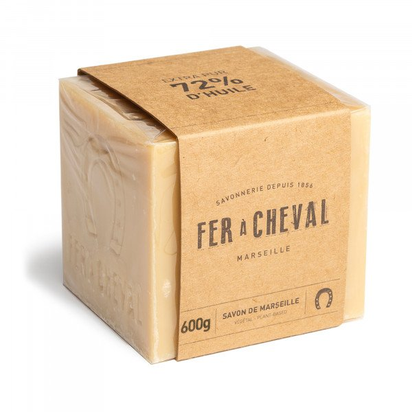 Savon de Marseille Cube Végétal 600g