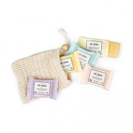 Kit de savons parfumés 5X25g