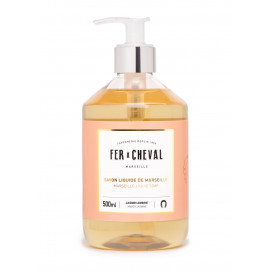 Marseille Liquid Soap Amber Jasmine 500ml
