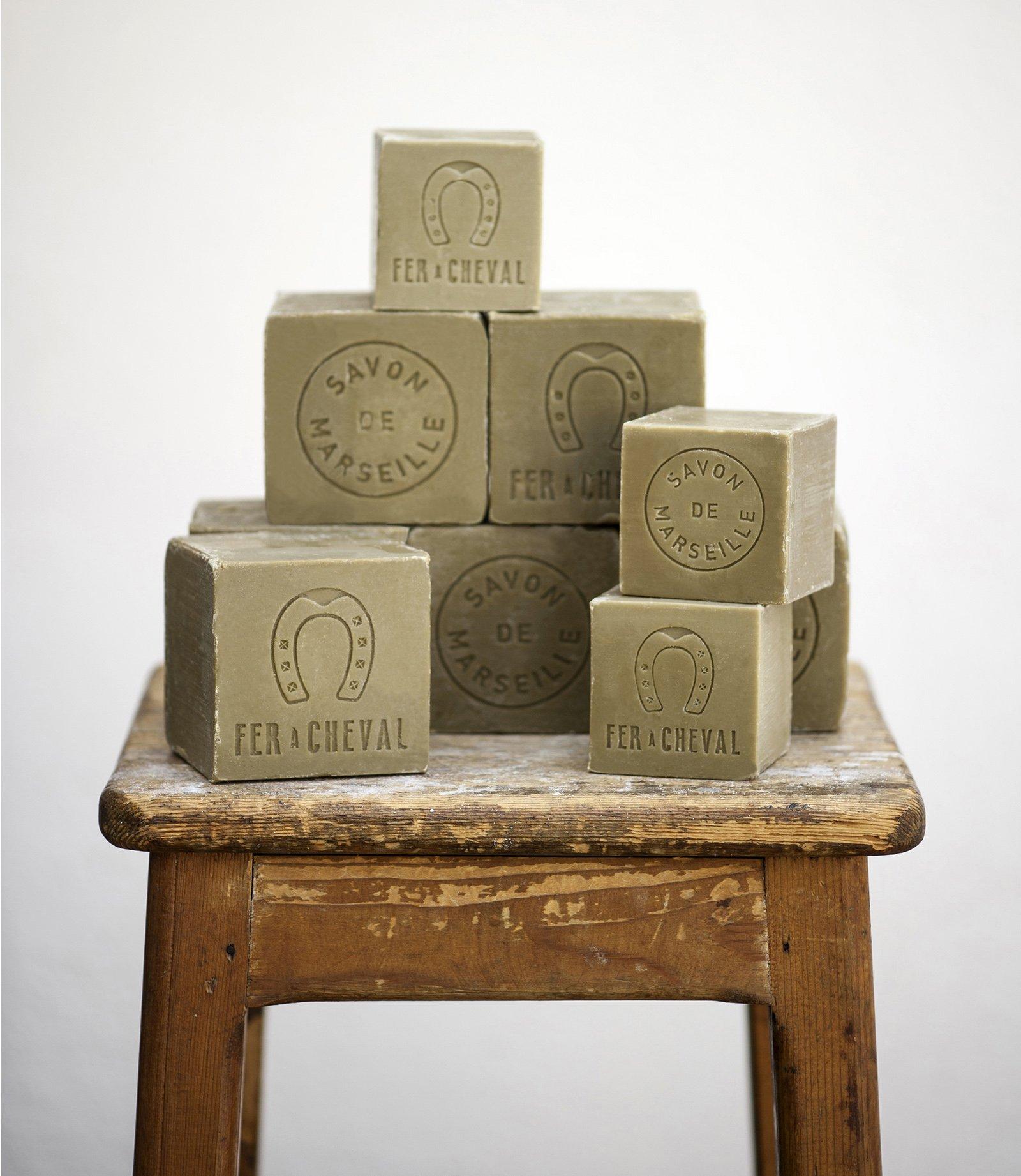Authentique savon de Marseille Olive